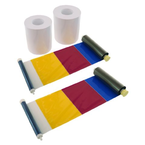 DNP Paper DSRX1HS-4X6P 2 Rolls ? 700 prints. 10x15 Perforated for DS-RX1HS