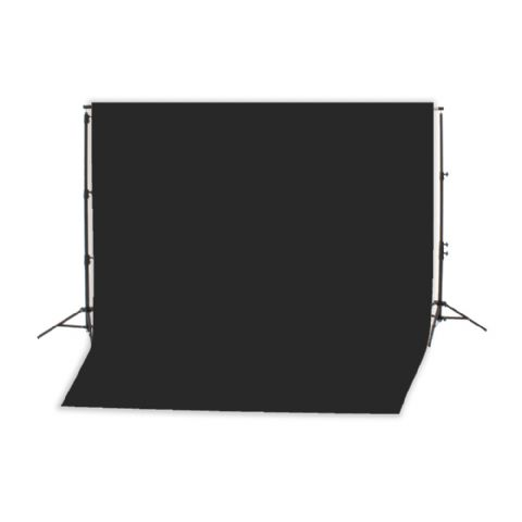 Falcon Eyes Background System B-8510 with Roll Black 2,75 x 11m