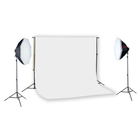 Falcon Eyes Background System incl. Light 12x28W