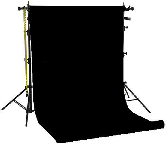 Falcon Eyes Background System SPK-1Z with 1 Roll Black 1.35x11 m