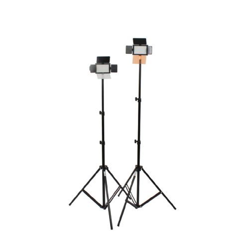 Falcon Eyes LED Lamp Set Dimmable DV-160V with lightstands