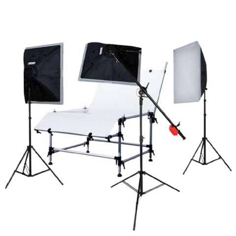 Falcon Eyes Photo Table ST-1324 with Lighting
