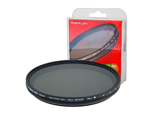 Marumi Grey Variable Filter DHG ND2-ND400 67 mm