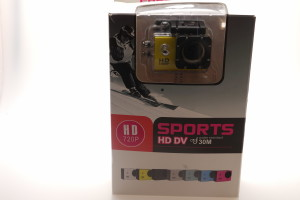 HD 720 Sports Action camera, 30m water resistant