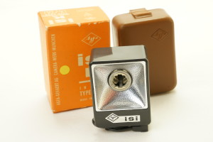 Agfa ISI Bulb Flash in Case and Boxed