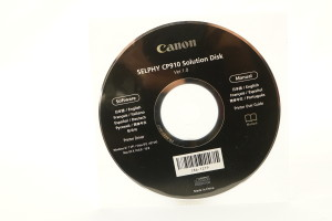 Canon Selphy CP910 Solution Disk v1