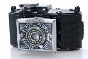 Agfa Karat 6.3 Art Deco Camera & case circa 1937