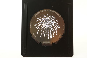 Bowens Gobo 238-266 Fireworks 1 by DHA Lighting