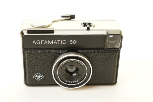 Agfa Agfamatic 50 126 Camera in Case