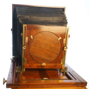 10 x 12 inch (30x36cm) Wooden Studio Camera c1900 (Hire Only)