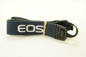 Canon EOS Wide Neck Strap (Navy Blue)