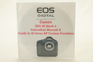 Canon EOS 350D Instruction Book on CD