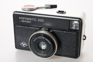 Agfa Agfamatic 200 Sensor 126 in Case