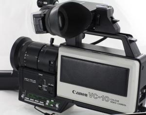 Canon VC-10 Video Camera Circa 1981 (Hire Only)