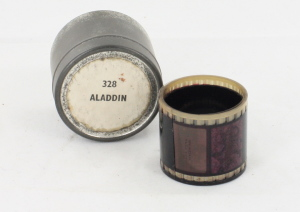 Aladin and the Lamp Filmstrip in can c/w Notes