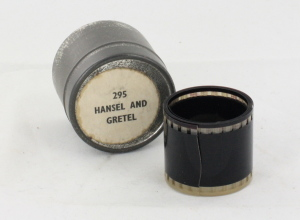 Hansel and Gretel Filmstrip in can c/w Notes
