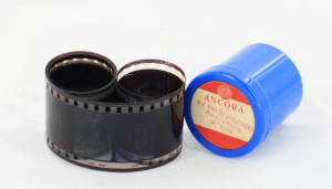 Ancora Religious Film Strip in canister