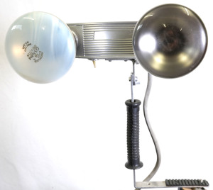 1960s Amateur Twin Head 8mm Movie Light