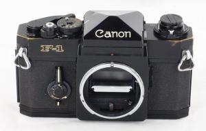 Canon F1 35mm Camera Body