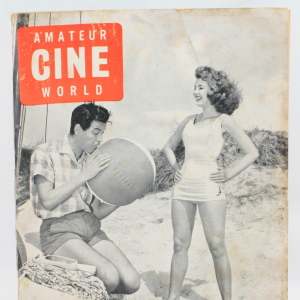 Amateur Cine World magazine from August 1960