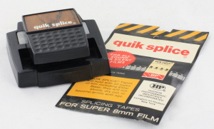 1968 QUIK SPLICE STANDARD 8/SUPER 8/SINGLE 8 SPLICER