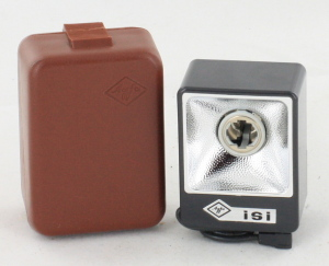 Agfa ISI Bulb Flash in Carry Case
