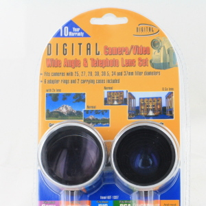 Digital Concepts Camera/Video wide angle & Telephoto Lens Set