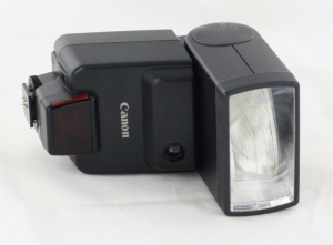 Canon Speedlite 420EZ Flashgun in Case