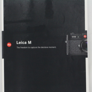 'Leica M' Leica M9 Leaflet and Price List