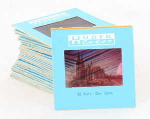 30 35mm Slides by Huber Color of German Cities