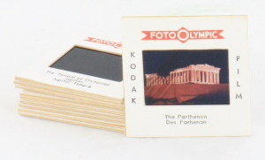 10 35mm Slides by Foto Olympic, Landmarks in Greece