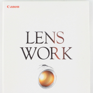 Canon EF Lens Work , Softback Book  190 Pages, 1992 Edition