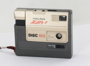 Halina Zippy F 102 Disc Camera