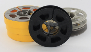 6 Kodak 50ft 8mm empty Cine film spools
