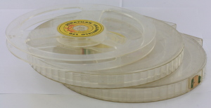 3 x Jonathan Fallowfield 400ft 8mm Cine Reels