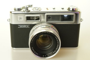 Yashica Electro 35 35mm Camera in case 1960's (Hire Only)