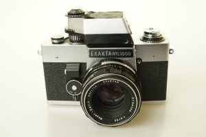 Exakta RTL 1000 c/w 50mm f1.8 Oreston in Case 1969