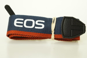 Canon EOS Wide Neck Strap (Blue & Red)