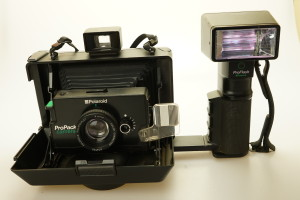 Polaroid ProPack Instant Camera & Flashgun 1990's (Hire Only)