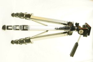 Exelas Camera Tripod c/w Pan & Tilt Head (Hire Only)