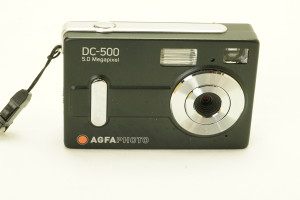 Agfa DC-500 5mp Digital camera in case