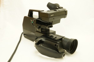 Sony HVC-3000P Video Camera 1980-1981 (Hire Only)