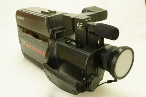 Sony Betamovie BMC-500P Camcorder c1985 (Hire Only)